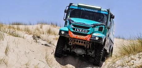 车队PETRONAS De Rooy IVECO已经准备好在全球最具挑战性的拉力赛2019年达喀尔拉力赛中大显身手
